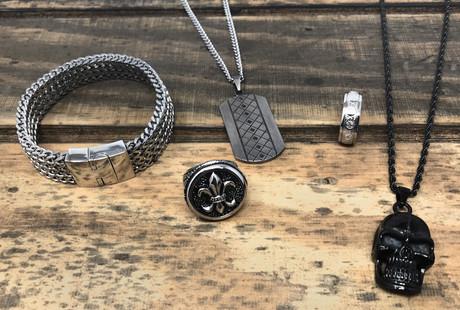 Rugged Metal Jewelry