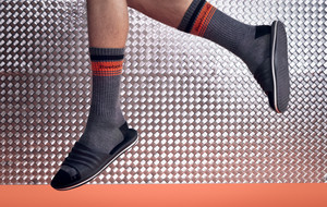 Sporty Socks from a Sneaker Legend