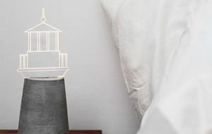Acrylic + LED Table Lamps