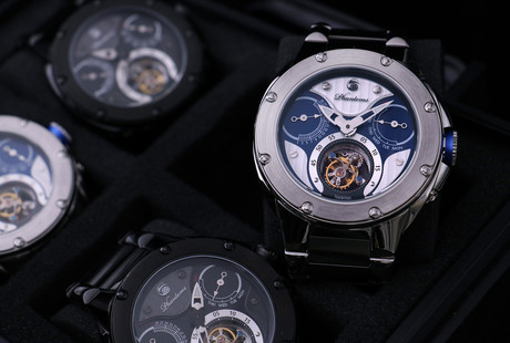 Distinctive Manual Tourbillons