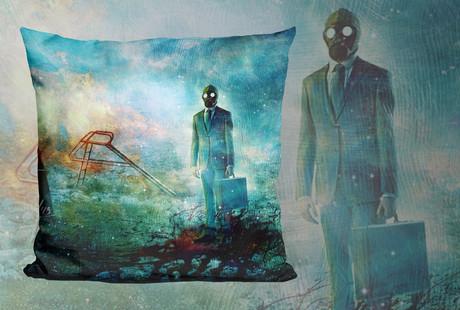 Art-Printed Throw Pillows