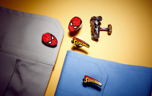 Comic Book Cufflinks