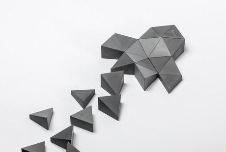 Sculptural Concrete Prisms