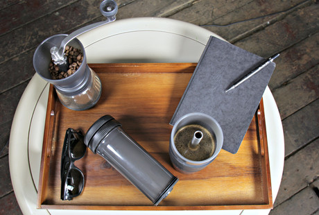 The Water Bottle Coffee Brewer