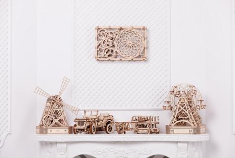 3D Wood Puzzles