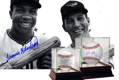 Authentic Signed MLB Memorabilia