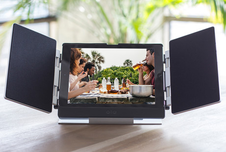 Innovative iPad Soundsystem