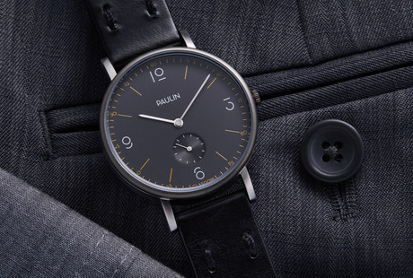 Contemporary Bauhaus Timepieces