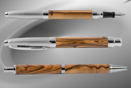Handcrafted Wood Pens With History