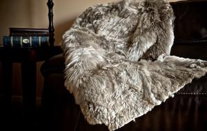 Alpaca Fur Pillows, Throws and Rugs
