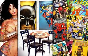 Signed Comic Books + Comic Art