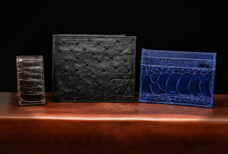 Handcrafted Ostrich Leather