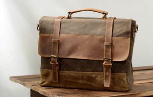 Canvas Travel Bags + Weekender