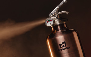 Fire Extinguishers with Attitude