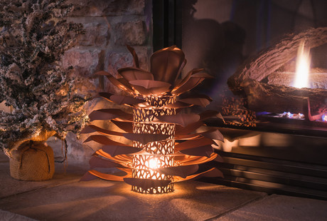 Nature Inspired Fire Pits +  Sculptures