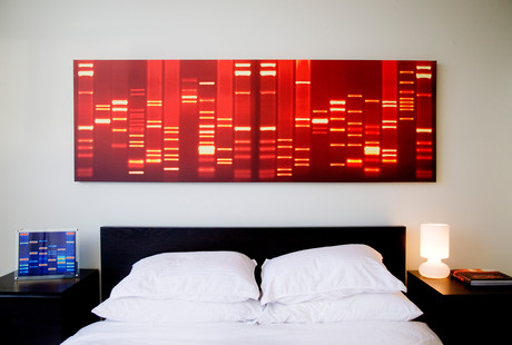 Your DNA Printed on Canvas