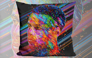 Polychromatic Accent Pillows