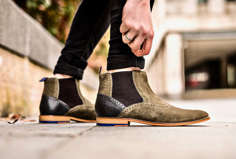 Handmade Shoes + Boots