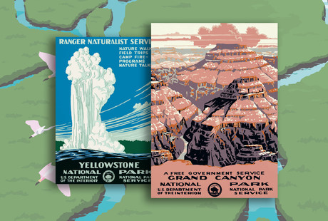Illustrated Landmarks From Around The Country