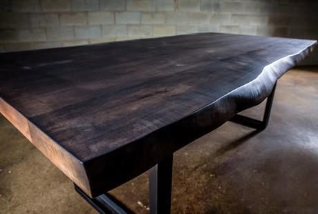 Custom Live Edge Tables