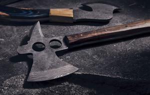 Damascus Knives & Axes