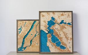 Intricate Geography Artwork