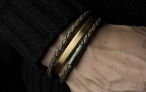 Cufflinks, Cuffs & Leather Bracelets
