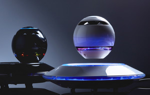 Mesmerizing Levitating Speakers