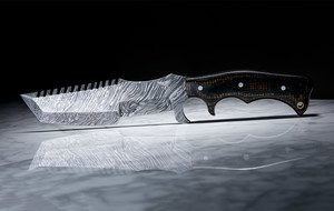Expertly-Crafted Damascus Knives