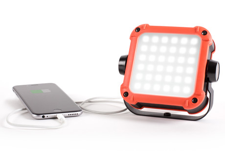 FLUX LED Outdoor Light & Powerbank
