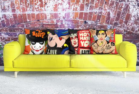 Audacious Pop Punk Pillows