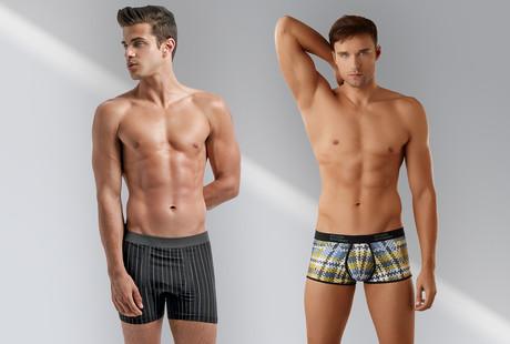 Rugged + Fashionable Men's Underwear