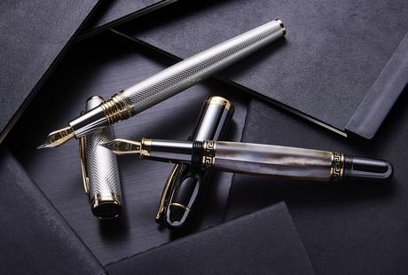 Fountain + Ballpoint Pens
