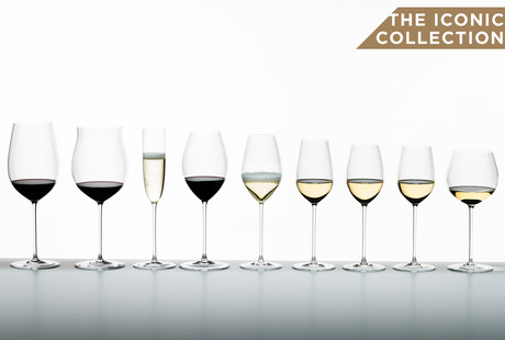 The Superleggero Glassware Collection