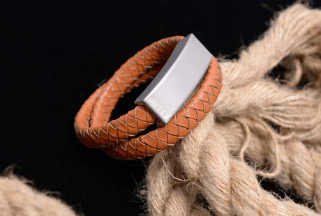 The Italian Leather Charging Bracelet