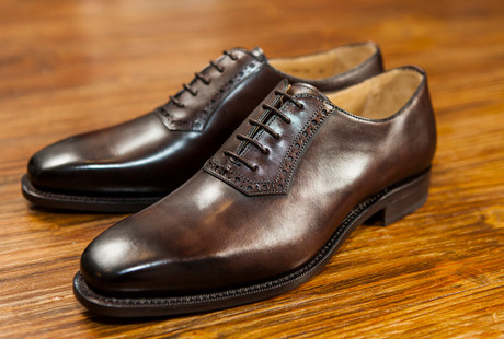 Refined Leather Footwear