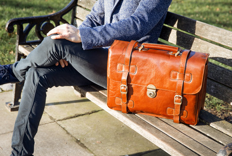 Premium Leather Travel Bags