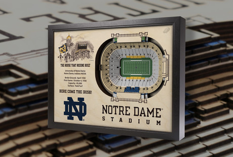 College Football 3D Stadium Replicas