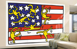 Neo-Expressionist Wall Murals