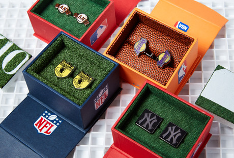 Official Licensed Sports Cufflinks
