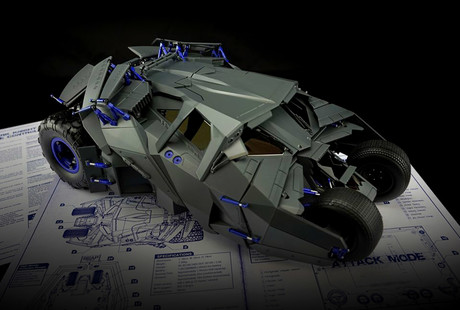 Intelligent RC Batmobiles