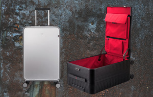 All Aluminum Smart Carry-on Luggage
