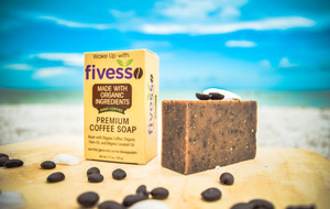 Premium Coffee Soaps & Scrubs