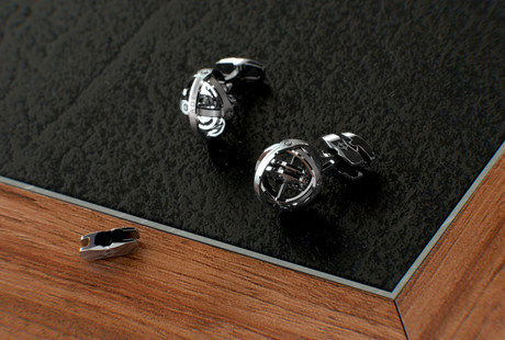Luxury Gyroscopic Cufflinks