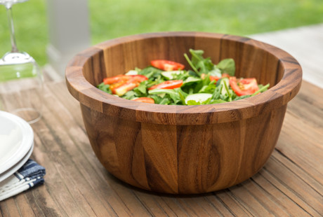 Gourmet Wooden Kitchen Bowls & Boards