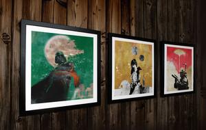Limited Edition Intergalactic Art Prints