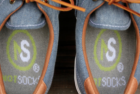 Go Sockless with Charcoal