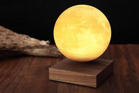 The Levitating Moon Lamp