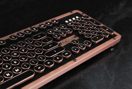 The Typewriter-Inspired Mechanical Keyboard