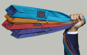 100% Silk Ties With A Cause